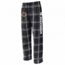 Woodhaven SC - NEW! Spiritwear - Pennant Flannel Pant (Black/White)