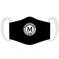 Met Oval Academy - Custom Club Face-Mask (Black)