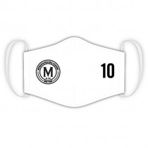Met Oval Academy - Custom Club Face-Mask (White)