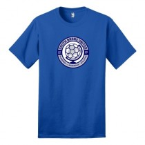 South Bronx United Spiritwear - Dry-Blend Short-Sleeve Tee (Royal)