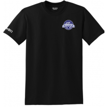 South Bronx United Spiritwear - Anniversary Edition! - Dry-Blend Short-Sleeve Tee (Black)
