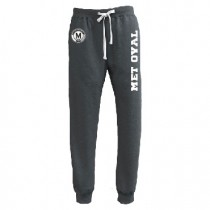Met Oval Academy Spiritwear - Pennant Throwback Jogger (Black Heather)