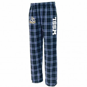 West Side Soccer League Spiritwear - Pennant Flannel Pant (Navy/Carolina)