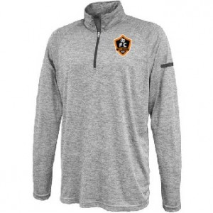 Woodhaven Soccer Club Spiritwear - Pennant Stratos 1/4-Zip (Grey)