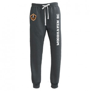 Woodhaven Soccer Club Spiritwear - Pennant Throwback Jogger (Black Heather)