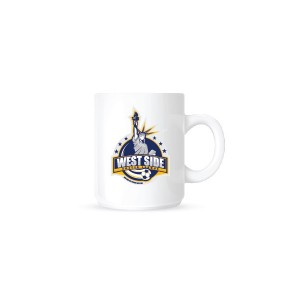 West Side Soccer League Spiritwear - Coffee Mug (White)
