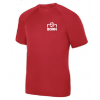 Born Kickers - Augusta Youth Attain S/S Wicking Tee (Red)